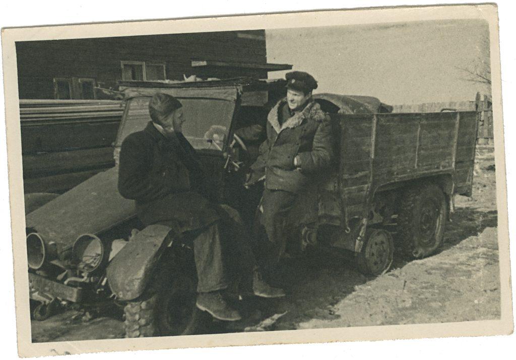 Veoauto vrakk sõjajärgsetel aastatel Tartus.