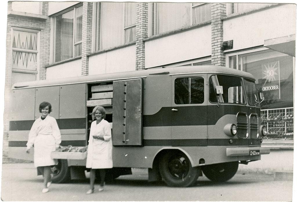 Furgoonauto TA-9A eksportmudel. Foto: Tartu ARKT arhiiv.