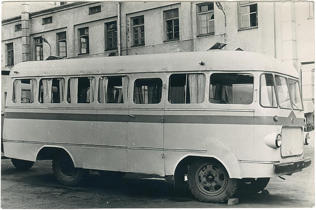 Moderniseeritud autobuss TA-6, 1970. kevad.